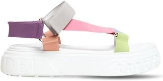 Casadei 40mm Nylon Stra Sandals