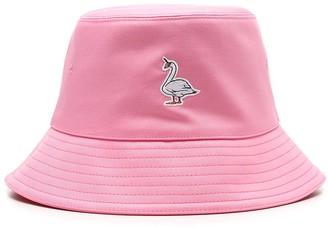 Burberry Swan Applique Bucket Hat
