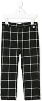 Il Gufo checked tailored trousers