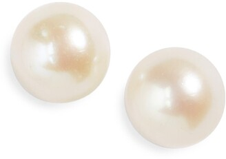 Mignonette Silver & Cultured Pearl Earrings
