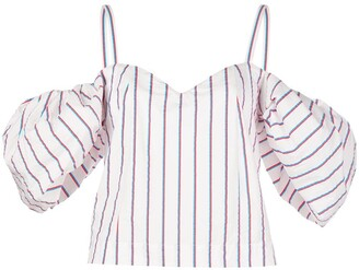 Rosie Assoulin Ra Ra puff sleeve top