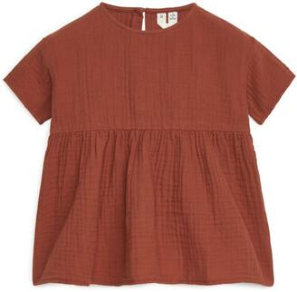 Arket Relaxed Muslin Dress