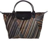 Longchamp Le Pliage Op'art Small Nylon Top Handle Tote