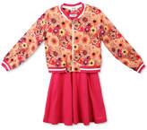 Speechless 2-Pc. Bomber Jacket and Skater Dress Set, Big Girls