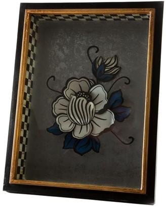 Mackenzie Childs Lotus Avant Garden Shadow Box
