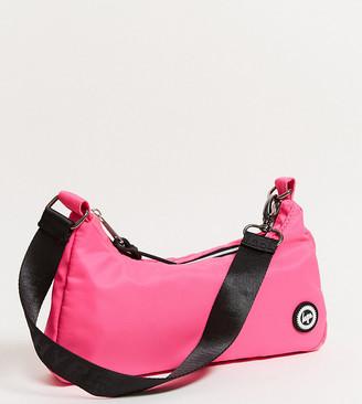 Hype Exclusive shoulder bag in neon pink