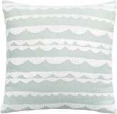 Kate Spade embroidered scallop accent pillow