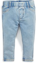 Tucker Infant Girl's + Tate Denim Look Leggings