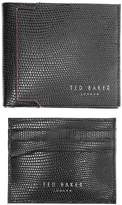 Ted Baker Gekko Wallet Set in Black