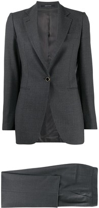 Tagliatore Fitted Trouser Suit