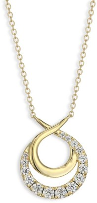 Hearts On Fire Optima Diamond & 18K Yellow Gold Circle Necklace