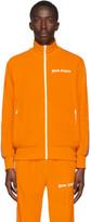 Palm Angels Orange Chenille Track Jacket