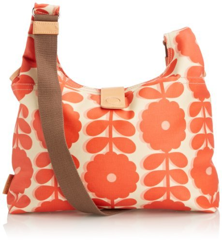 Orla Kiely 14SECWF044 Cut-Out Wildflower Midi Sling Cross Body Bag