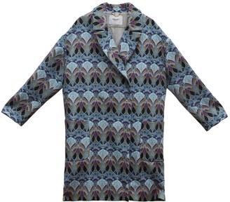 Blumarine Blue Coat for Women