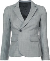 Nili Lotan off centre single button blazer