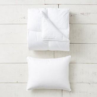 Pottery Barn Teen Premium Down Bedding Basics Bundle Set