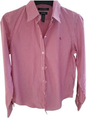 Lauren Ralph Lauren Pink Cotton Top for Women
