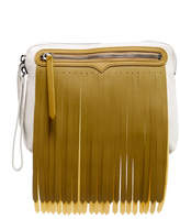 Hunter Rubber Fringe Leather Pouch