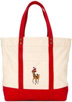 Polo Ralph Lauren embroidered logo shoulder bag