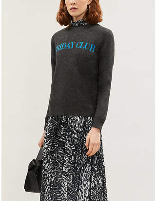 Chinti and Parker Friday Club wool and cashmere-blend jumper