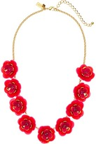 Kate Spade Rosy Posies Necklace Necklace