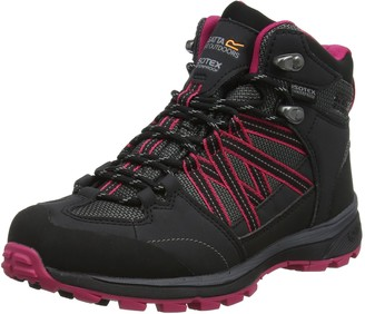 Regatta Ldy Samaris Md Ii Womens High Rise Hiking Boots Grey (Briar/Dkceri) 5 (38 EU)