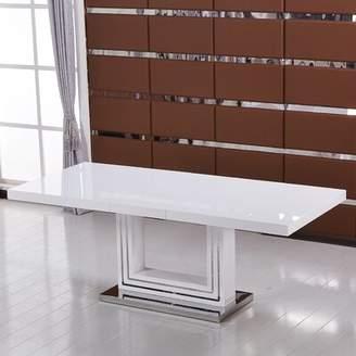KNOTT Orren Ellis Modern Extendable Dining Table Orren Ellis