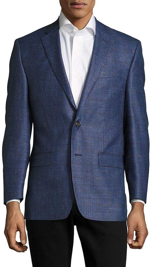 Ralph Lauren Men's Checked Two-Button Jacket