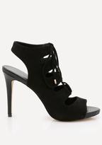 Bebe Ezzy Faux Suede Sandals