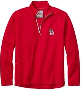 Tommy Bahama Men's 'Mlb Firewall - St. Louis Cardinals' Quarter Zip Pullover
