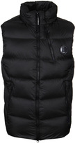 Cp Company Black Down Padded Gilet