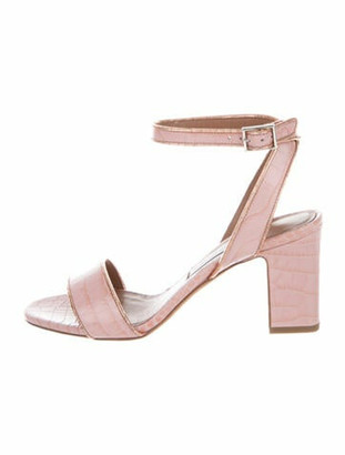 Tabitha Simmons Leticia Leather Sandals Pink