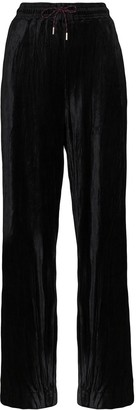 Ninety Percent Wide-Leg Drawstring Trousers