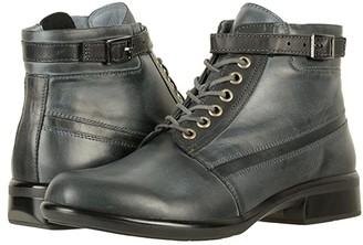 Naot Footwear Kona (Vintage Ash Leather/Black Combo) Women's Boots