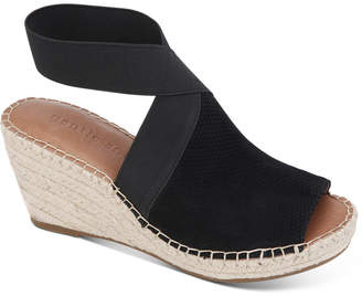 Gentle Souls by Kenneth Cole Women Charli Elastic Espadrille Wedge Sandals Women Shoes