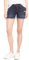 Vigoss Women's Chelsea Frayed Hem Denim Shorts