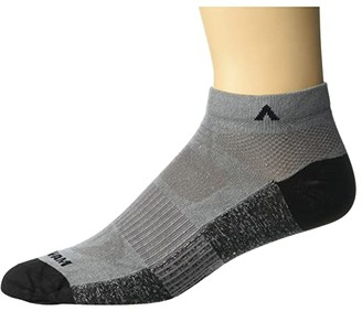 Wigwam Attain Ultralight Low (Gunmetal) Crew Cut Socks Shoes