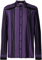Bottega Veneta collar pin shirt