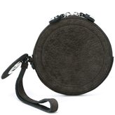 Carven round clutch - women - Leather - One Size