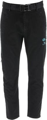 Off-White Tapered Denim Jeans