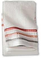 Threshold Pinch Pleat Hand Towel - Coral