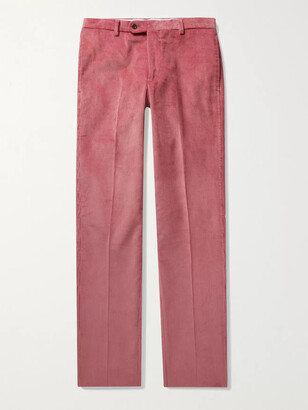 Sid Mashburn - Cotton-Corduroy Suit Trousers - Men - Pink