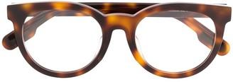 Kenzo Round Tortoiseshell Glasses