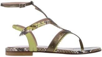 Just Cavalli Toe strap sandals