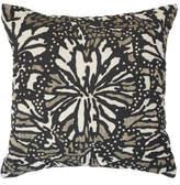 BANDHINI Butterfly Black Lounge Cushion