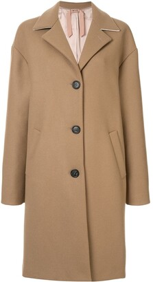 No.21 Wool Oversized Single Breast Coat