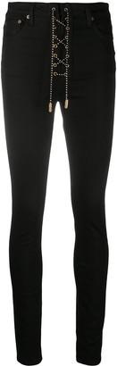 Garçons Infidèles Lace-Up Skinny Jeans
