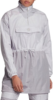 adidas Long Sleeve Nylon Minidress
