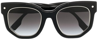 Burberry Gradient Square-Frame Sunglasses