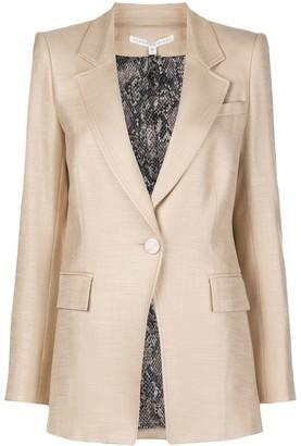Veronica Beard Tailored Notch-Collar Blazer